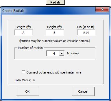 AutoEZ: Create Wires - Yagis, Quads, Radials, Grids